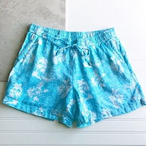 Tommy Bahama || NWT Linen Tropical Shorts Size M